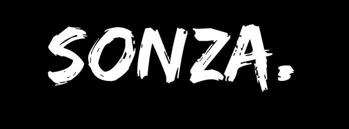 SONZA Facebook cover art